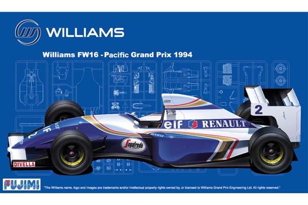Williams fw16 pacific grand prix1994 fujimi 090658 for Catalogo grand prix