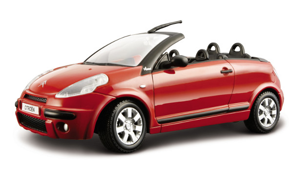 citroen c3 cabriolet die cast model bburago 18 22096. Black Bedroom Furniture Sets. Home Design Ideas