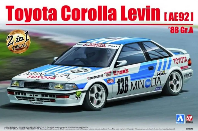 Toyota Corolla Levin [AE92] 88 Gr.A - Image 1