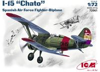 Polikarpov I-15 Chato Spanish Republican Air Force fighter-biplane