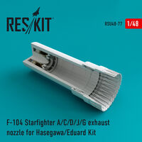 F-104 Starfighter (A/C/D/J/G) exhaust nozzle for Hasegawa/Eduard Kit - Image 1