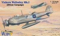 Vickers Wellesley Mk.I (African Campaign) British long range bomber - Image 1