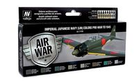 71169 Air War Color Series - Imperial Japanese Navy (IJN) Colors Pre-War to 1945 Set