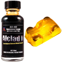ALC-402 Transparent Yellow - Heat Stains & Lexan Tints - Image 1