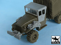 US 2 1/2 ton Cargo Truck accessories set for Tamiya 32548, 10 resin parts - Image 1