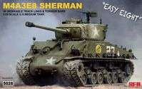 M4A3E8 Sherman w/workable track links and torsion bars - Image 1