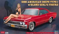 52202 1966 American Coupe Type I w/Blond Girls Figure