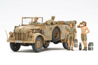 German Steyr Type 1500A/01 - and  Africa Corps Infantry  Rest - Image 1