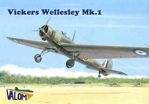 Vickers Wellesley Mk.I British long range bomber - Image 1