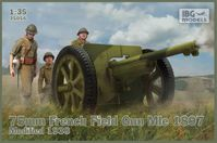 75mm French Field Gun Mle 1897 Modified 1938