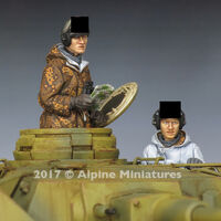 WSS Panzer Crew Winter Set (2 figs) - Image 1