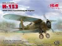 I-153 WWII China Guomindang AF Fighter