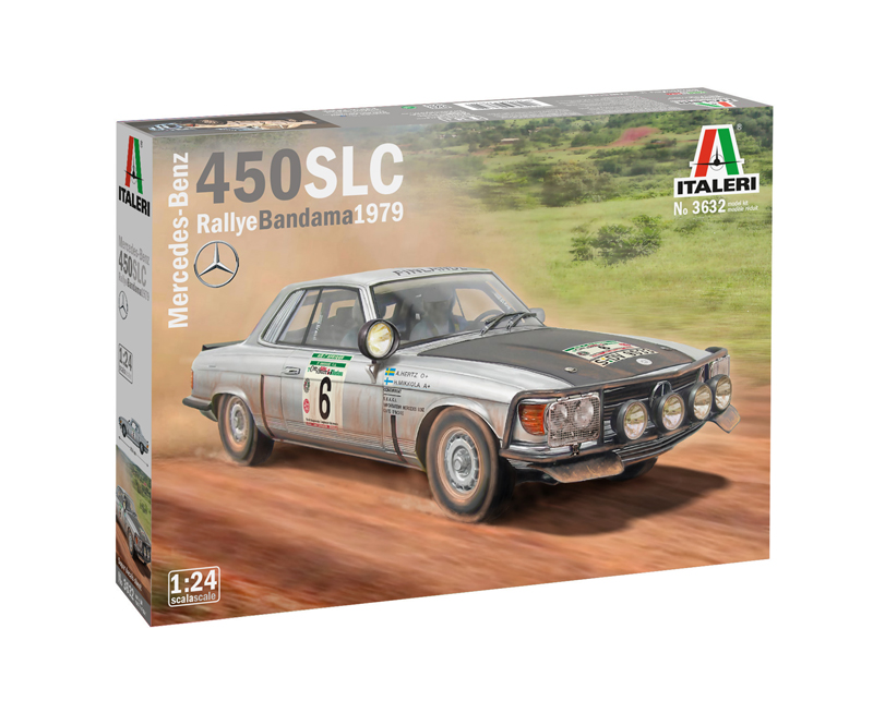 Mercedes-Benz 450SLC Rally Bandama 1979 - Image 1