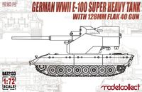 German WWII E-100 Super Heavy Tank with 128mm Flak 40 Gun - Image 1