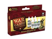 70158 War Games Paint Series - German SS Paint Set