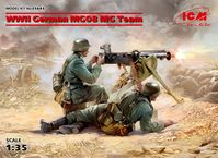 WWII German MG08 MG Team (2 figures) - Image 1