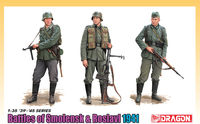 """Battle Of Smolensk & Roslavl 1941"" (3 Figure Set) with Bonus DS Uniform & Boots (Limited)"