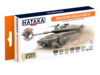 HTK-CS114 Israeli Defence Forces AFV Paint Set