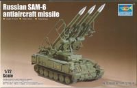 Russian SAM-6 antiaircraft missile - Image 1
