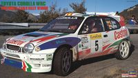 Toyota Corolla WRC 1998 Monte Carlo Rally Winner Limited Edition