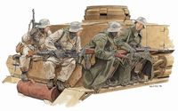 Winter Tank Riders 1943-44