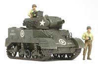 US Howitzer Motor Carriage M8 - Awaiting Orders w/3 Figures - Image 1