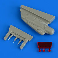 F-14A/B Tomcat chin pod with ECM antenna accessories TAMIYA - Image 1
