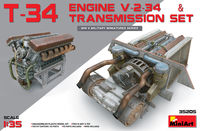 T-34 ENGINE V-2-34 & TRASMISSION SET