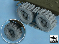 US 2 1/2 ton Cargo Truck Traction devices for Tamiya 32548, 42 resin parts - Image 1