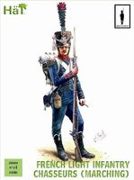 Napoleonic French Chasseurs Marching