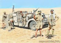 British LRDG (Long Range Desert Group) in North Africa (1941-1943)