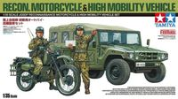 JGSDF Reconnaissance Motorcycle & High Mobility Vehicle Set