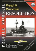 Brytyjski pancernik HMS RESOLUTION