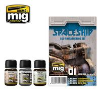 A.MIG 7444 Spaceship Sci-Fi Weathering Set