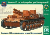 Sturmpanzer II German 15 cm self-propelled gun - Image 1