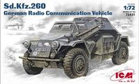 Sd.Kfz.260 German WW2 Radio Communication Vehicle