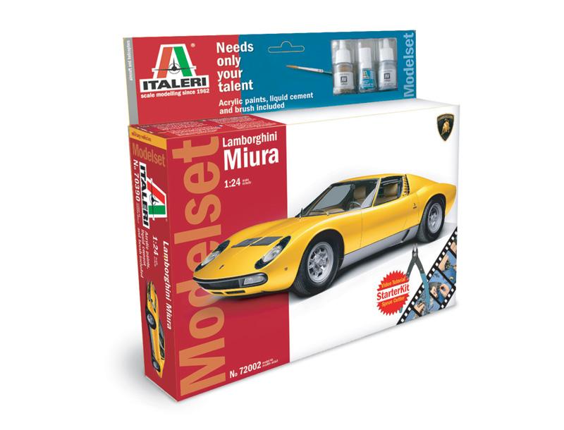 Lamborghini Miura Model Set Italeri 72002