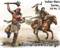 Indian Wars Series, kit No. 2. Tomahawk Charge - Image 1