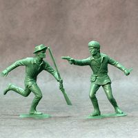 American scouts, set of two figures #3 - Image 1