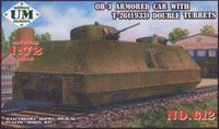 OB-3 Armored Car with T-26(1933) Double Turrets