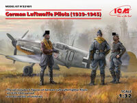 German Luftwaffe Pilots (1939-1945) (3 figures)