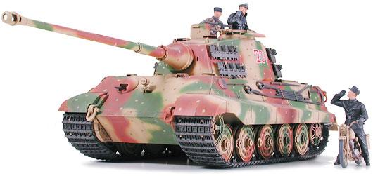 Tamiya 35252 1//35 Model Tank German King Tiger II Königstiger Ardennes Front