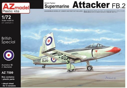Supermarine Attacker FB.2 - Image 1