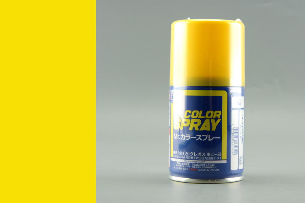 S004 Yellow - (Gloss) Spray - Image 1