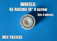 OZ-Racing wheels 4 screw