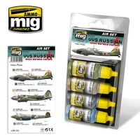 A.MIGAMM VVS RUSSIAN WWII BOMBER COLORS SET