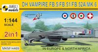 de Havilland Vampire FB.5/FB.51/FB.52A/Mk.6 (2in1)