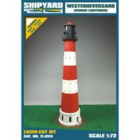 Westerheversand Lighthouse skala 1:72