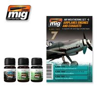 A.MIG 7420 Airplanes Engines and Exhausts - In cooperation with Jamie Haggo and Diejo Quijano Set