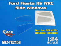 Ford Fiesta RS WRC / s2000 - Side windows for BELKITS